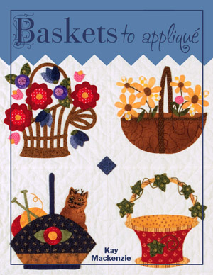 Front Cover of Baskets to Appliqué