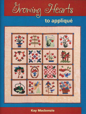 Front Cover of Growing Hearts to Appliqué