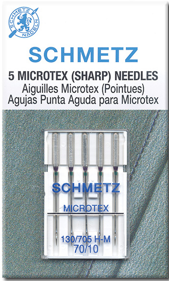 Schmetz Microtex needles